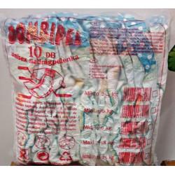 10db-os Junior (11-25kg) Pelenka Csomagok